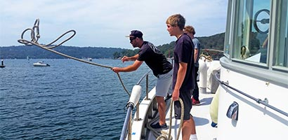 Learn how to be a GPH deckhand